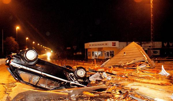 Orkaner – et undervisningsmateriale til naturteknologi mellemtrin