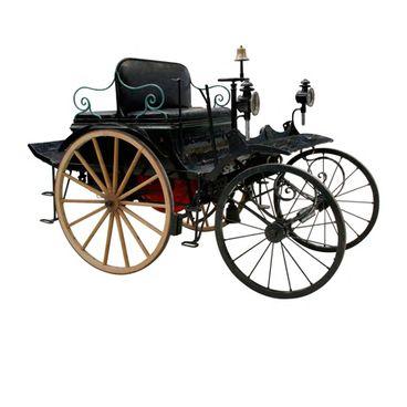 De første biler