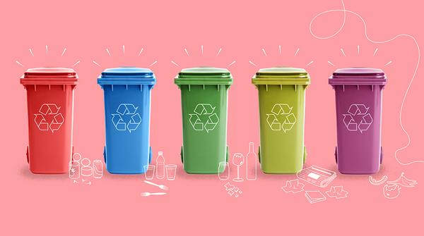 StatisticsAndTrash RecyclingBins Clio